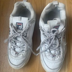 Womens fila sneakers size 8.5